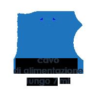 Caratteristiche Vapour M3. Pulitore a Vapore